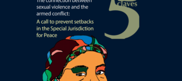 The conexion between sexual violence and armed conflict